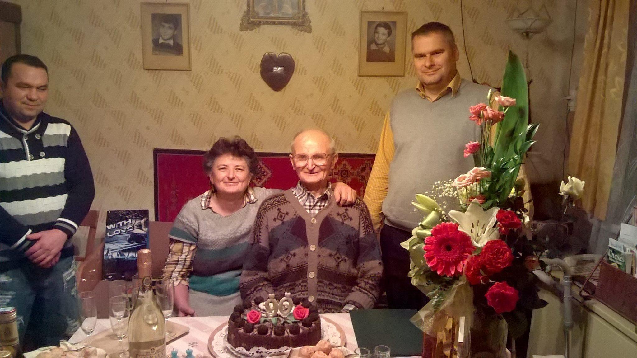 Szobota Béla 90. születésnap